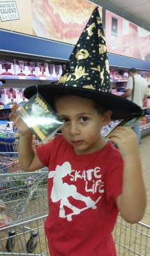 My grandson, the Wizard!
