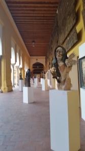 Aurelio Teno Exhibition in Patio de los Naranjos, Cordoba.