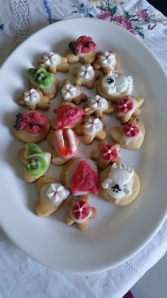 Scary Cookies made by me!