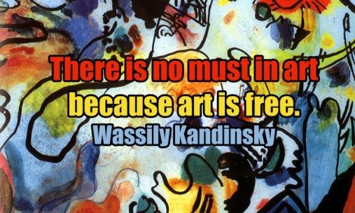 Kandisnky quote