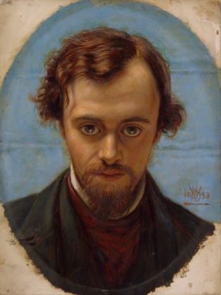 Rossetti by William Holm Hunt