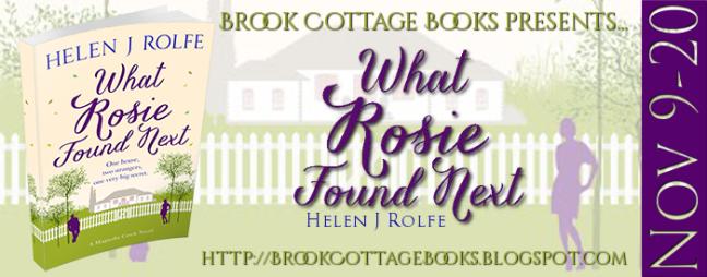 What Rosie Found Next Tour Banner 1