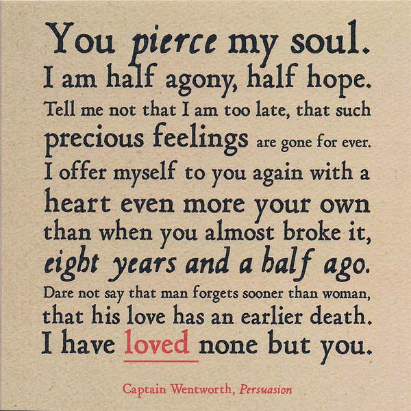 most romantic love letter ever