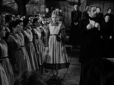 Peggy Ann Garner as young Jane Eyre at Lowood School in Jane Eyre 1944 x 400