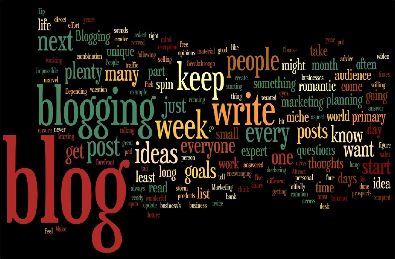 Menulis di blog bukan kerna populariti