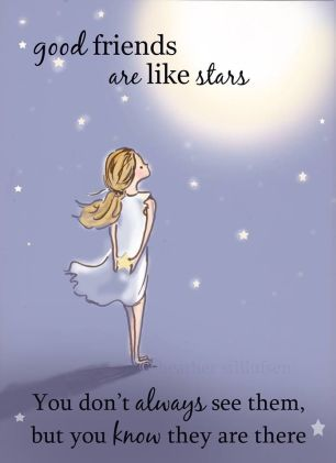 good-friends-are-like-stars-friendship-daily-quotes-sayings-pictures