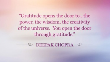 Gratitude Chopra