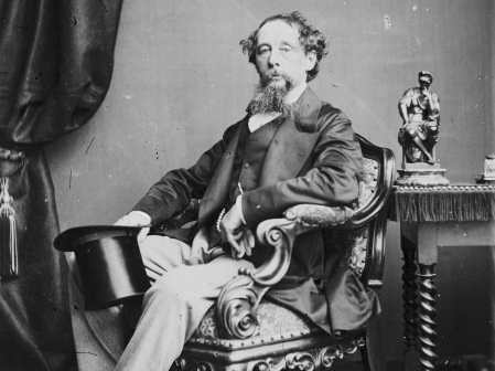 English novelist Charles Dickens (1812 - 1870), circa 1860. (Photo by John & Charles Watkins/Hulton Archive/Getty Images)