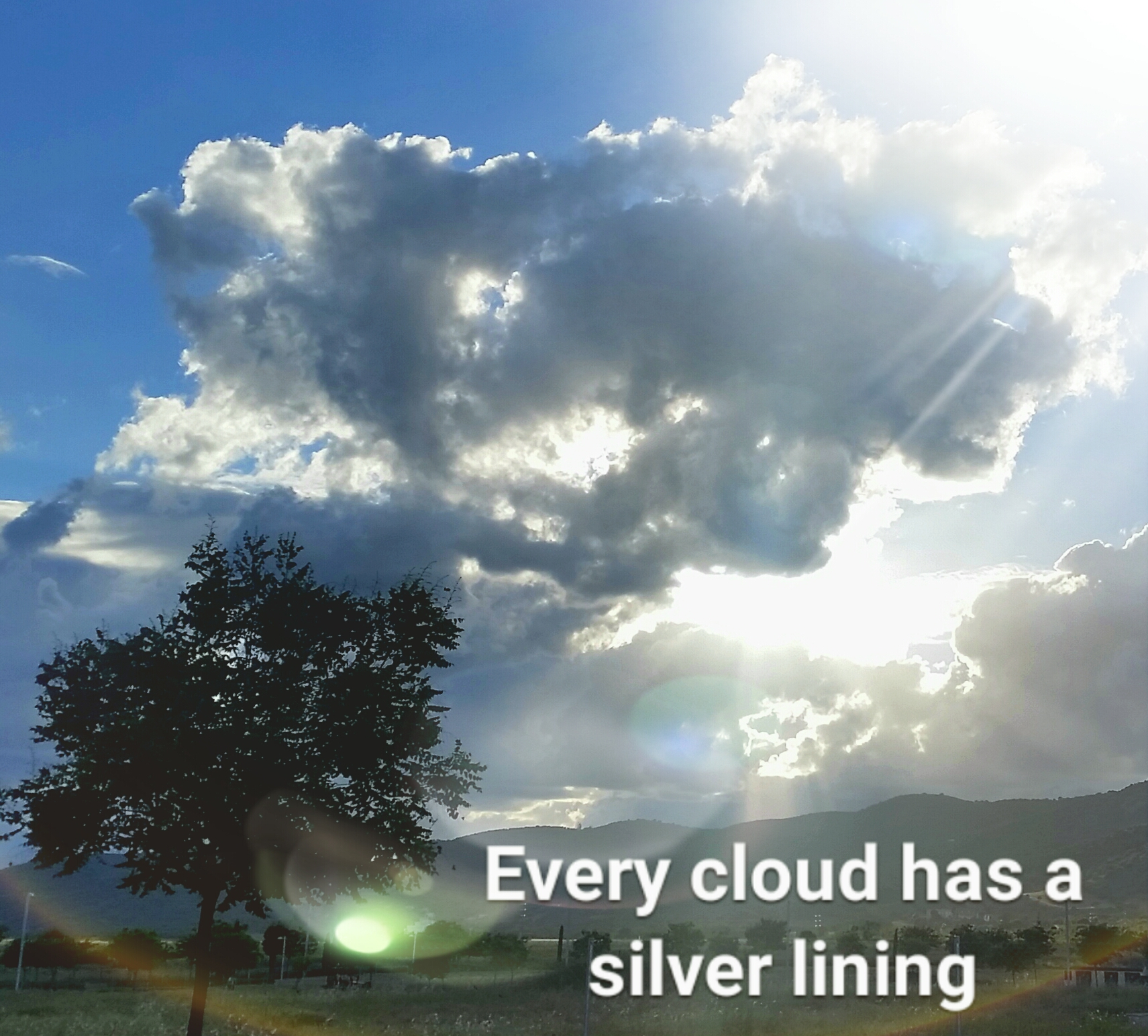 every cloud has a silver lining Every cloud has a silver lining lyrics: the flame is gone, but i no longer feel the cold / no greater meaning than death / another step too far in life / open your eyes and see / it's not the way.